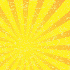 Abstract Sun Burst Pattern.