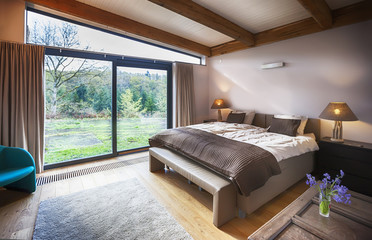 countryside villa's bedroom