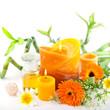 Leinwanddruck Bild - Sanfte Medizin mit Calendula officinalis