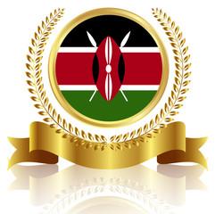 ケニア 国旗 フレーム