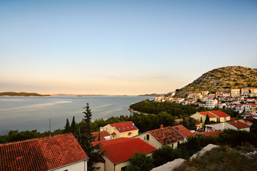Urlaubsort Drage in Kroatien am Meer
