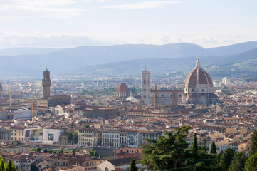 Skyline of Florence (Panorama), Italy