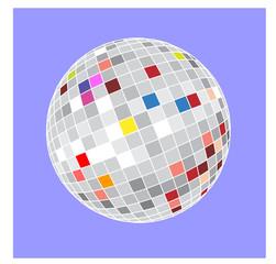 palla stroboscopica