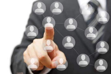 business connections and network marketing