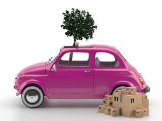 Viva Italia 500 - Transporte