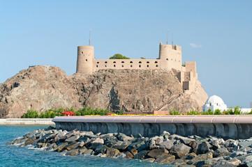 Fort Al-Jalali in Muscat , Oman.
