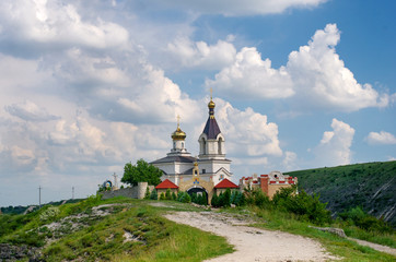 Christian Orthodox church in Old Orhei, Moldova