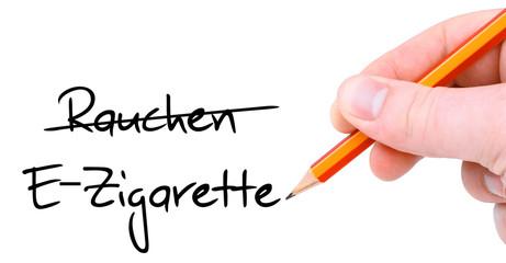 E-Zigarette statt Rauchen