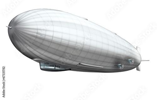 Luftschiff, Zeppelin freigestellt - 67331782