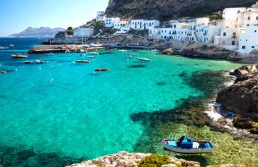 Levanzo Sicilia Porticciolo