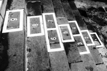 hopscotch childhood game