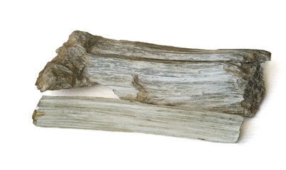 Natural asbestos. 14cm long.