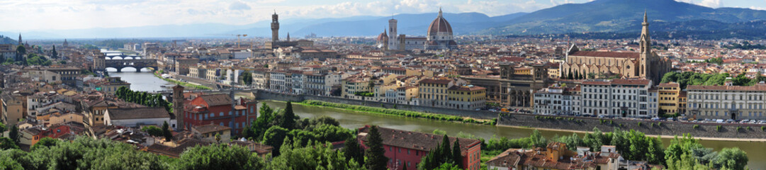 Skyline of Florence  Panorama , Italy