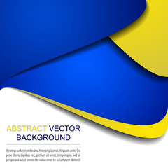 Abstract vector background with place for your content