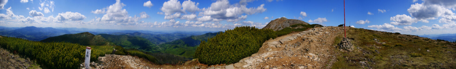Góry, Mountains, Babia Góra