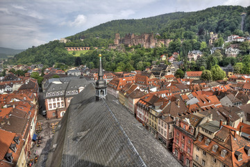 View from Heidelberg Cathedral