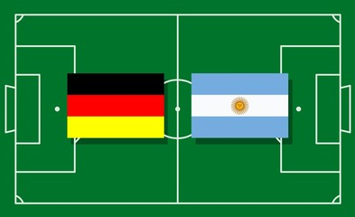 Finale Argentine Germany