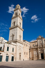 Lecce, il campanile del duomo