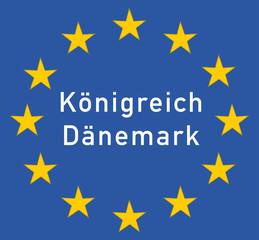 Grenzschild Königreich Dänemark, Symbol