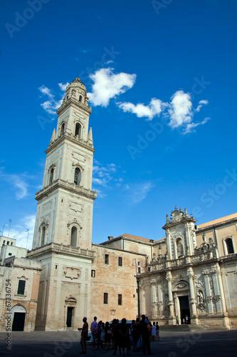 Deurstickers Toscane Lecce, il duomo