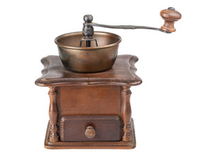 Vintage coffee mill