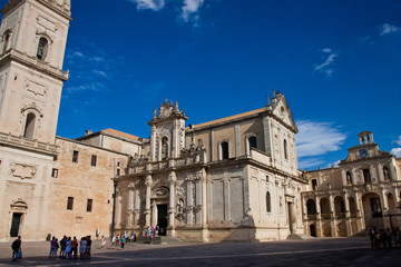 Lecce, piazza duomo