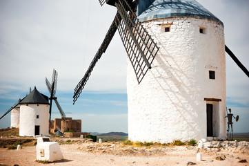 windmills in Consuegra