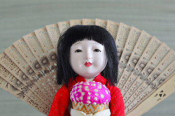 Japanese, Geisha.doll.
