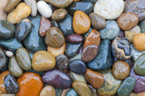 Fototapety Colorful of River Rock