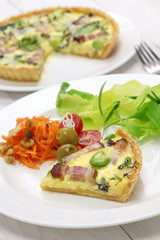 homemade quiche, French cuisine