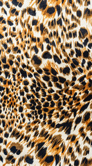 texture of fabric stripes leopard