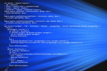 Web programming code