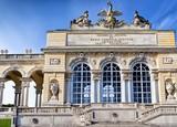 Gloriette pavilion in Vienna