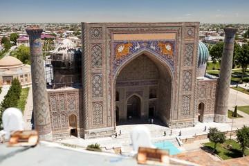 View of Sher-Dor Madrasa