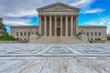 Leinwanddruck Bild - Supreme Court