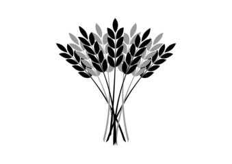 Agricultural icon on white background