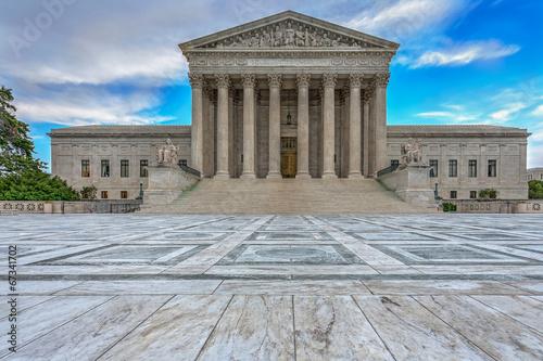 Leinwanddruck Bild Supreme Court
