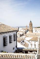 Vistas de Antequera.Andalucía, España
