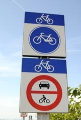 Señales para bici