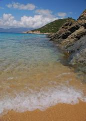 Plage paradisiaque de Camporo- Corse du sud