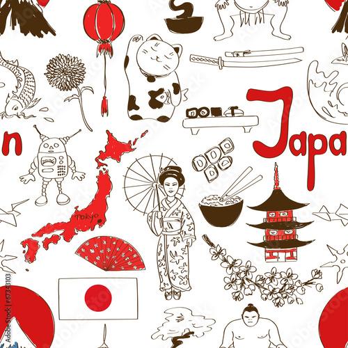 日本絵パターン
