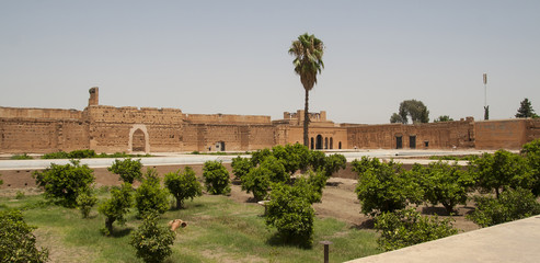 Palace in Marrakech