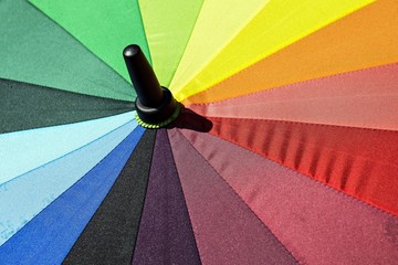 umbrella bright colors