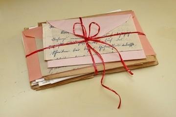 liebesbrief paket, gebündelt, paket
