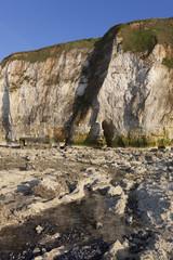 Cliffs in Dieppe, Côte d'Albatre, Haute-Normandie, France