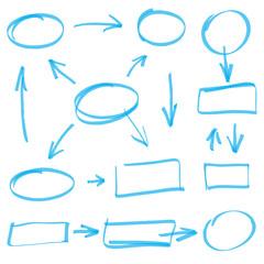 vector marker design elements