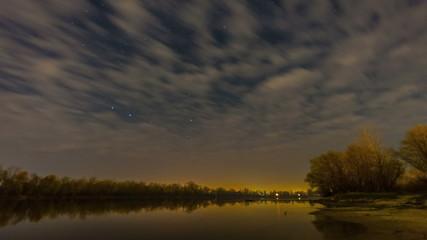 Stars in the sky.  Beautiful night