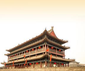Fortifications of Xian (Sian, Xi'an), China