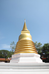Golden pagoda in Thailand Temple.