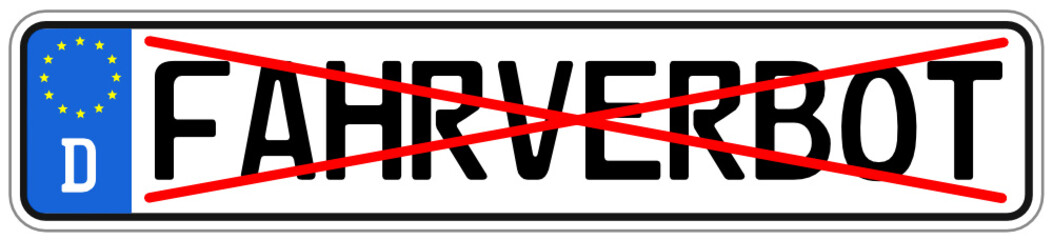Fahrverbot Schild  #140710-svg01